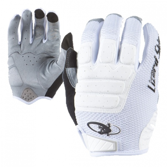 Lizard Skins fietshandschoenen Monitor HD wit/grijs mt 12