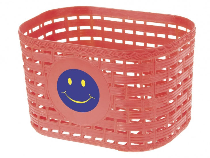 M Wave fietsmand smiley junior 3,5 liter rood
