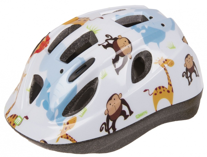 Mighty Helm Junior Zoo Wit Maat 48/54 cm
