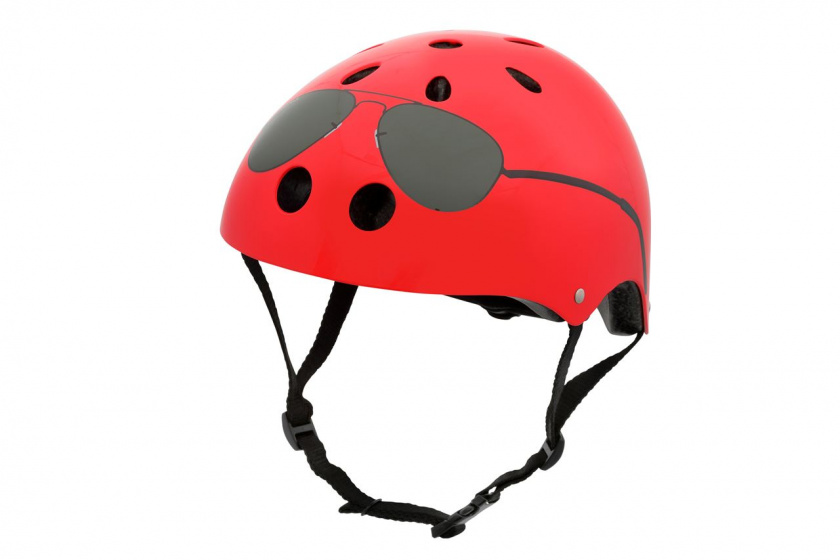 Mini Hornit Lids kinderhelm The Aviator 24 cm rood maat M