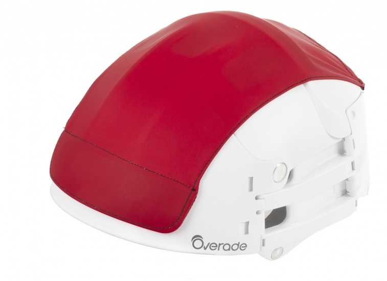 Overade Helm Cover Rood Maat L/XL