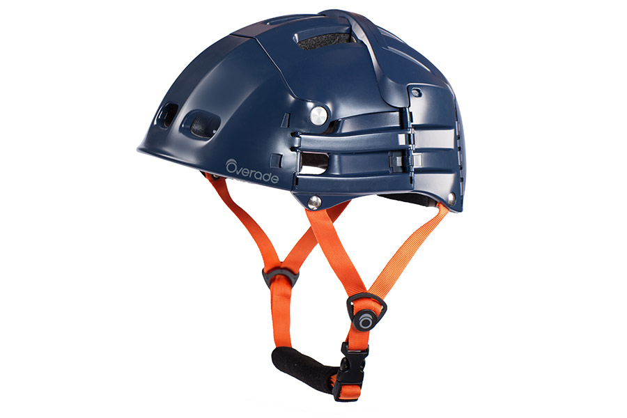 Overade Plixi opvouwbare Helm - Blauw