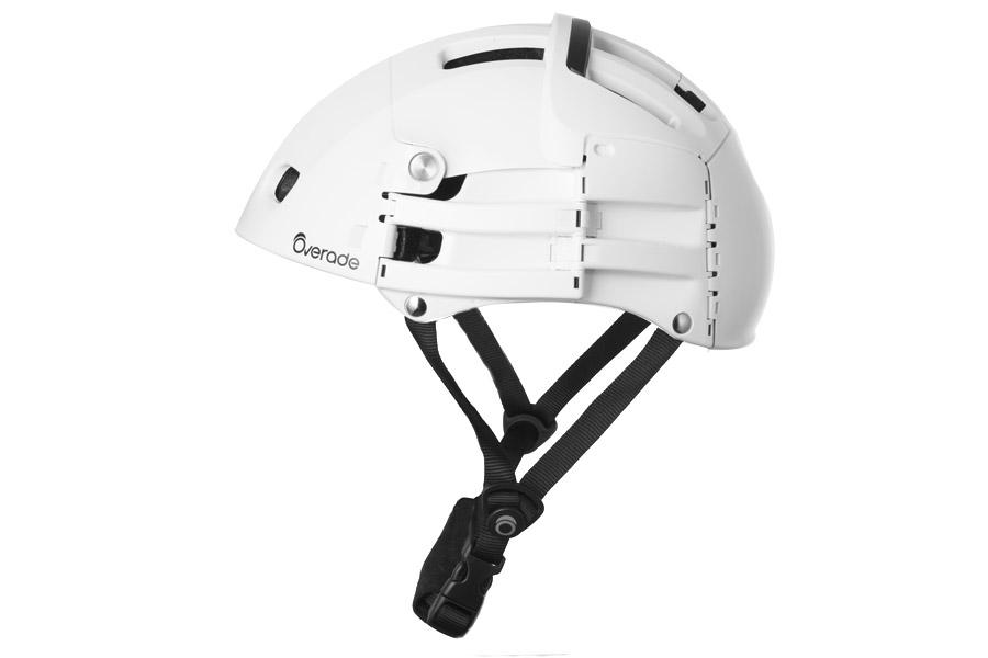 Overade Plixi opvouwbare Helm - Wit