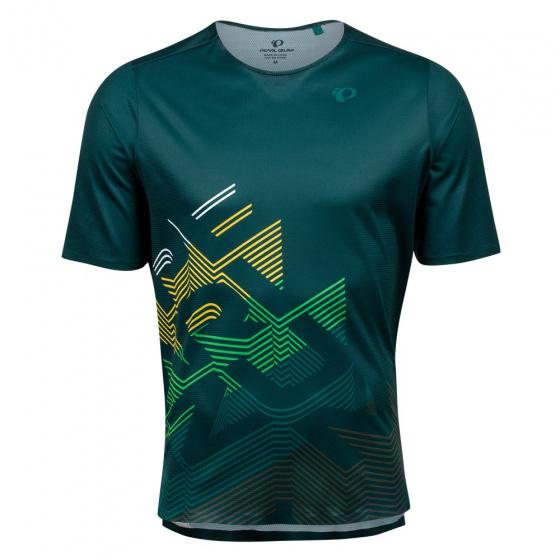 Pearl Izumi fietsshirt Launch heren polyester groen maat L