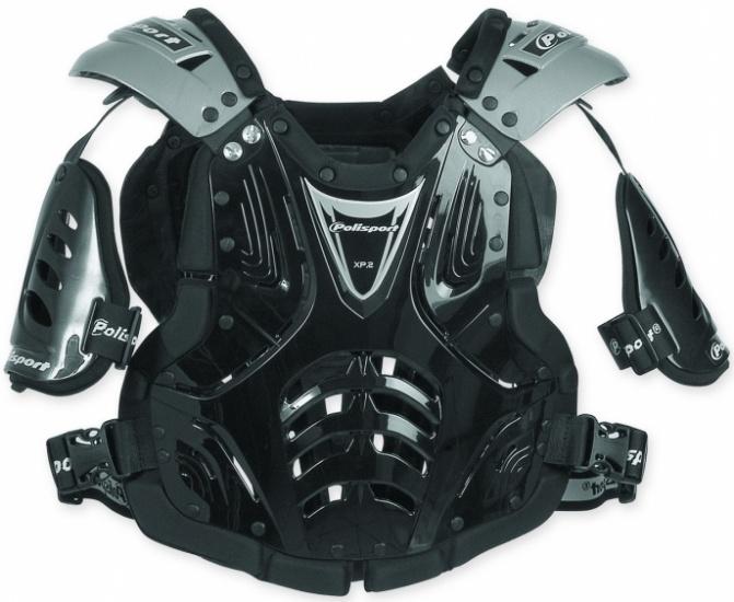 Polisport bodyprotector Cross Power 2 junior zwart