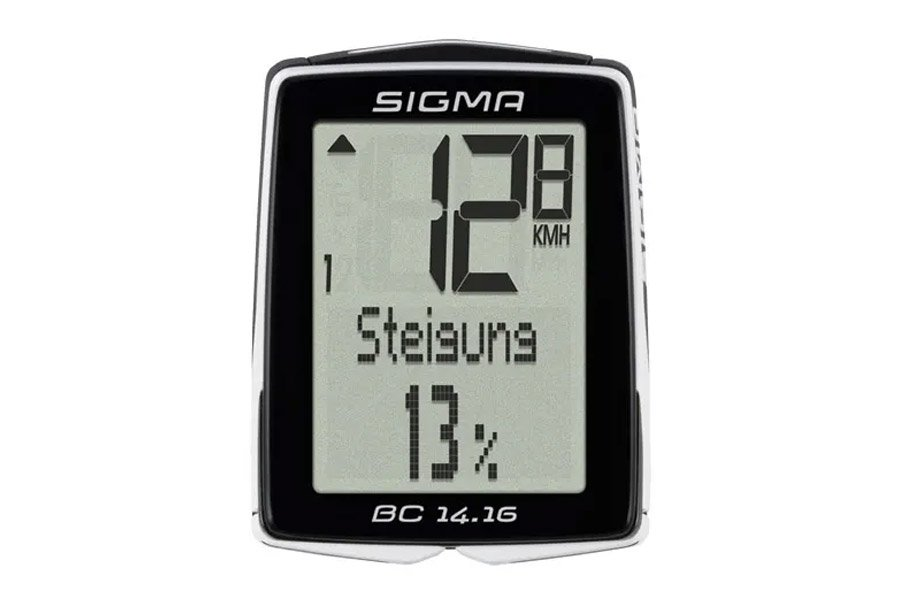 Sigma BC 14.16 Fietscomputer + Hoogtemeter