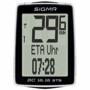 Sigma BC 16.16 Draadloze Trapfrequentie Fietscomputer