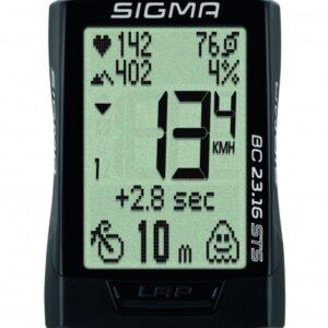 Sigma fietscomputer BC 23.16 STS zwart