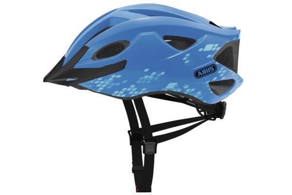 Abus Hyban S-Cension Diamond Helm - Blauw