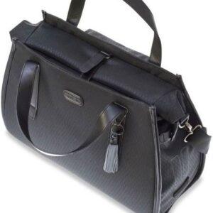 Basil Noir Business Bag enkele Fietstas - Schoudertas - Handtas - 17 liter - Zwart