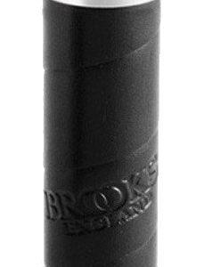 Brooks handvat Slendergrip leer 100 mm zwart per stuk