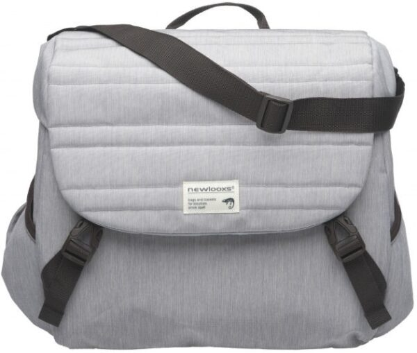 New Looxs Pakaftas Mondi Joy Single - Quilted Grey - 18.5Ltr