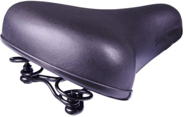 Simson zadel Basic 175 x 26 mm unisex zwart