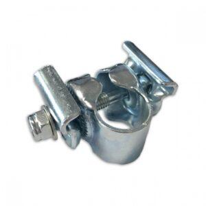 TOM universele zadelstrop 22,2 mm zilver