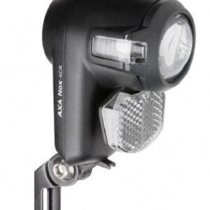 Axa - Voorlicht Nox City Batterijen 4 Lux Zwart