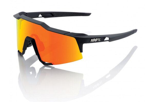 Bril 100% Speedcraft LL Soft Tact - Zwart/Oranje