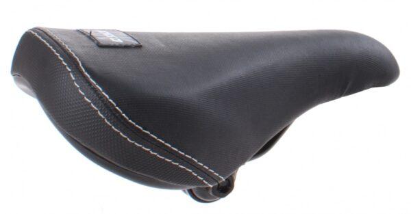 DK Bicycles zadel parameter BMX met strop 22 cm zwart