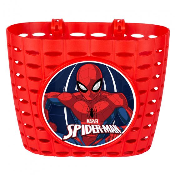 Disney fietsmand Spider Man junior 20 cm rood