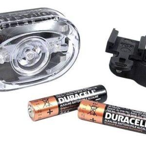 Duracell voorlicht led batterij 7 x 4,5 cm zwart