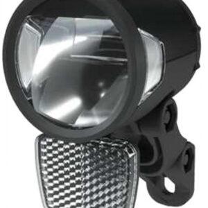 Herrmans voorlicht H Black MR8 dynamo aluminium zwart