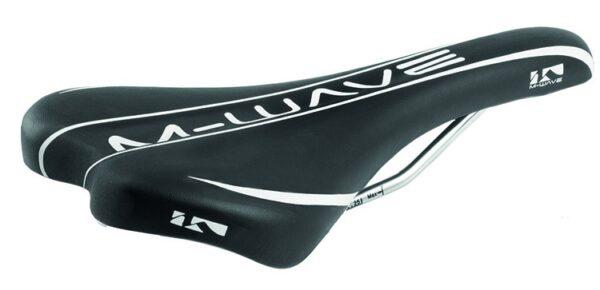 M Wave Zadel Comp II Zwart Wit