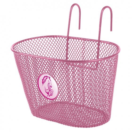 M Wave fietsmand 5 liter paard roze