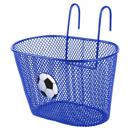 M Wave fietsmand 5 liter voetbal blauw