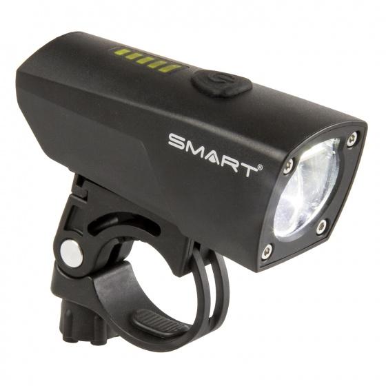 Smart koplamp Touring 25 lux oplaadbaar led zwart