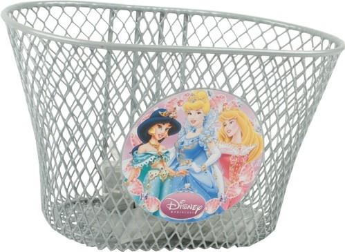 Widek kinderfietsmand Disney Princess 3,5 liter zilver