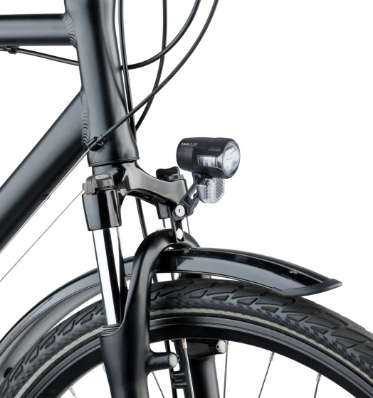 AXA koplamp Compactline 35 e bike led zwart