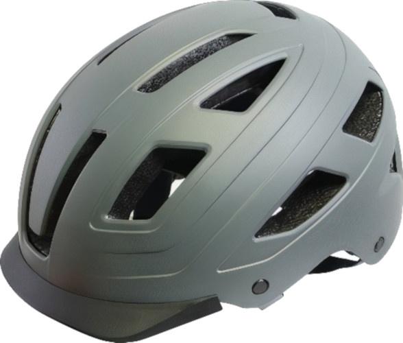 Cycle Tech fietshelm Urban Style unisex grijs maat 54 58 cm
