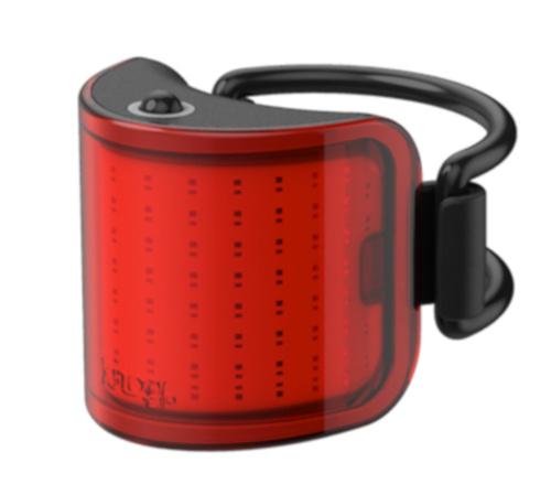 Knog achterlicht Lil' Cobber USB oplaadbaar rood/zwart