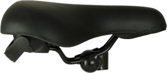 Knus zadel Handlift 26 x 21,4 cm foam/staal zwart