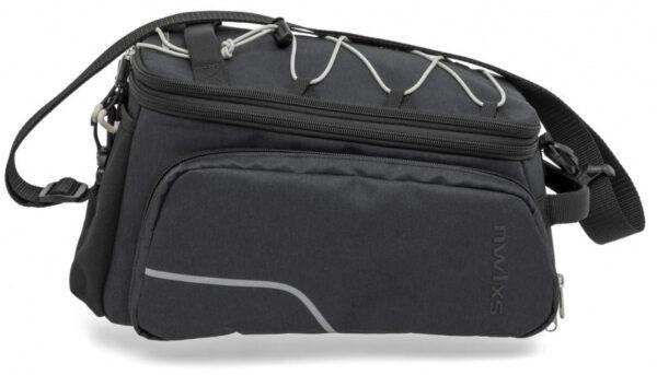 New Looxs fiets /schoudertas Trunk Bag Racktime 14 liter zwart