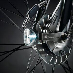 Reelight verlichtingsset SL120 Flash dynamo V brake/rollerbrake