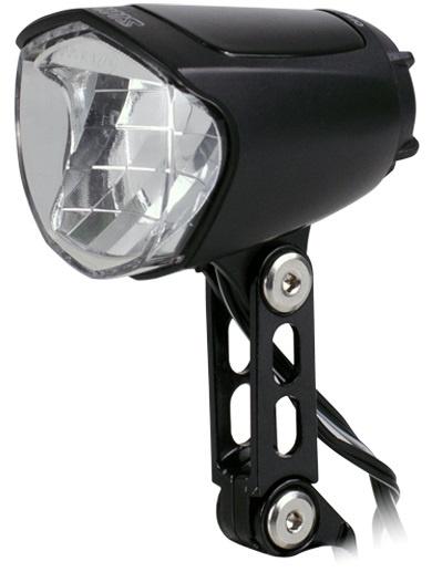 Simson koplamp Brightly 70 lux led naafdynamo zwart