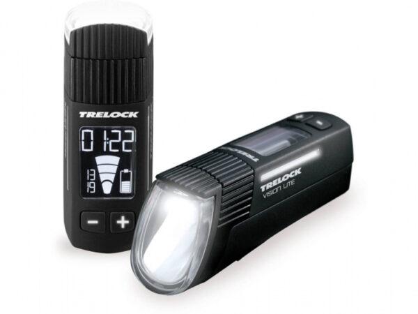 Trelock verlichtingsset LS660 I Go VisionLite + LS740 Vector zwart