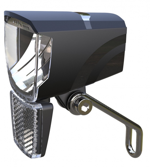 Union koplamp Spark E Bike 50 lux led zwart
