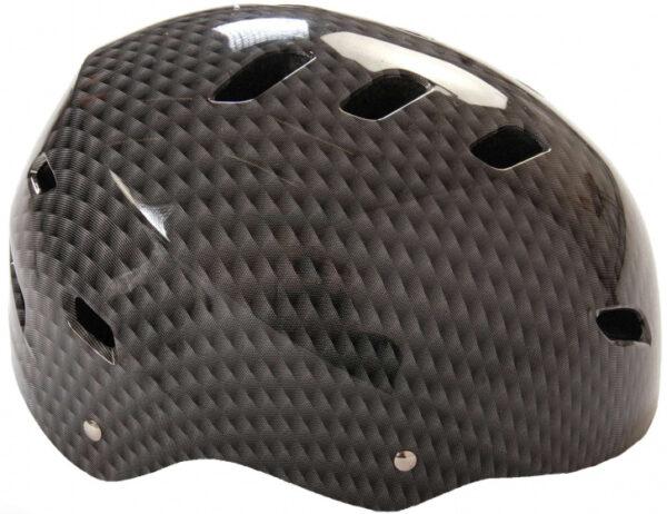 Volare helm junior 55 57 cm polycarbonaat grijs