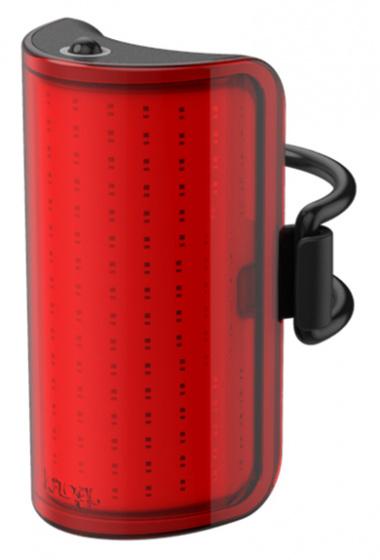 Knog achterlicht Mid Cobber USB oplaadbaar rood/zwart