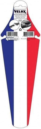 Velox achterspatbord Frankrijk MTB 34 cm blauw/wit/rood