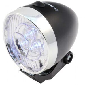 Dunlop - Voorlicht Led Retro Zwart