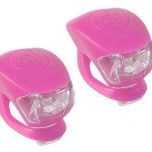 M Wave Verlichtingsset LED Roze 2 Stuks