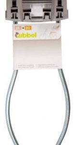 Qibbel framebevestiging achterzitje beugel Q202 zilver