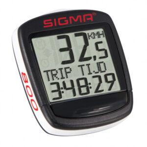 Sigma fietscomputer Bc Baseline 800 Wl 30 x 30 mm zwart