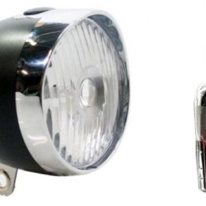 Spanninga verlichtingsset Smart Retro led batterijen matzwart