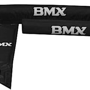 TOM BMX Pads Set Zwart