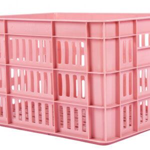 AMIGO fietskrat kunststof 27 liter roze