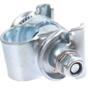 TOM zadelstrop 22,2 mm staal zilver