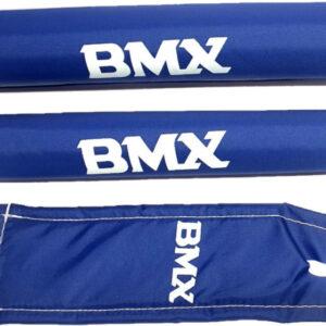 HZB pads BMX junior foam blauw 3 delig